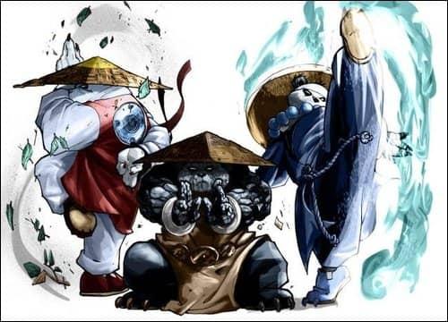 школа дзенствующей панды