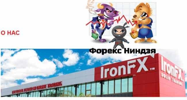 обзор брокера ironfx 1