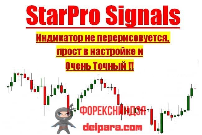Рисунок 1. Индикатор Star Pro Signals.