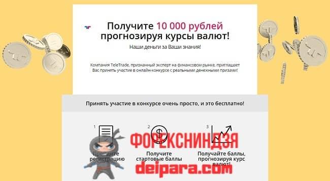Рисунок 1. Краткие сведения о школе инвесторов Teletrade.