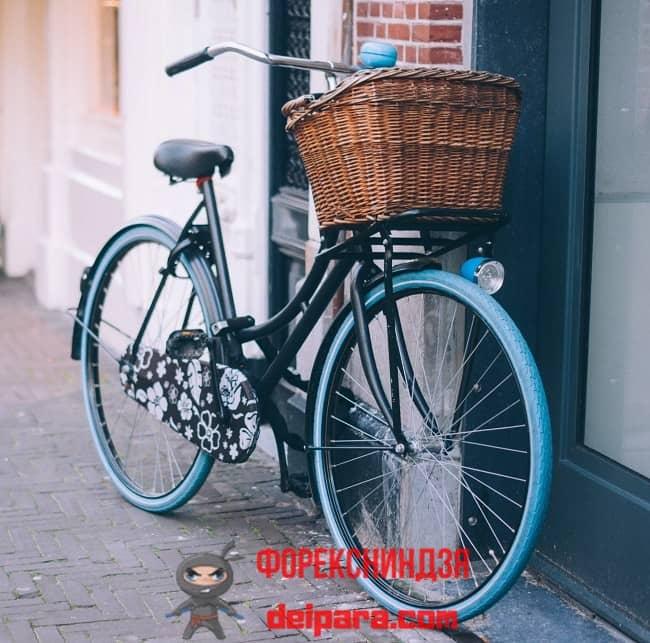 Рисунок 3. Велосипед – очень хорошее средство, чтобы научиться копить деньги и ценить время.