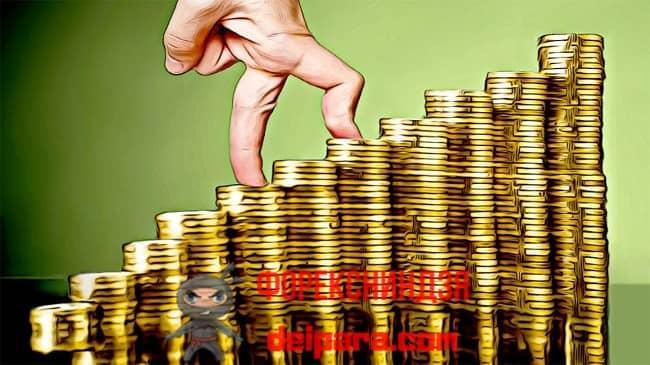 Рисунок 1. Получаемая каждый месяц гарантированная прибыль обеспечивает стабильный рост благосостояния.