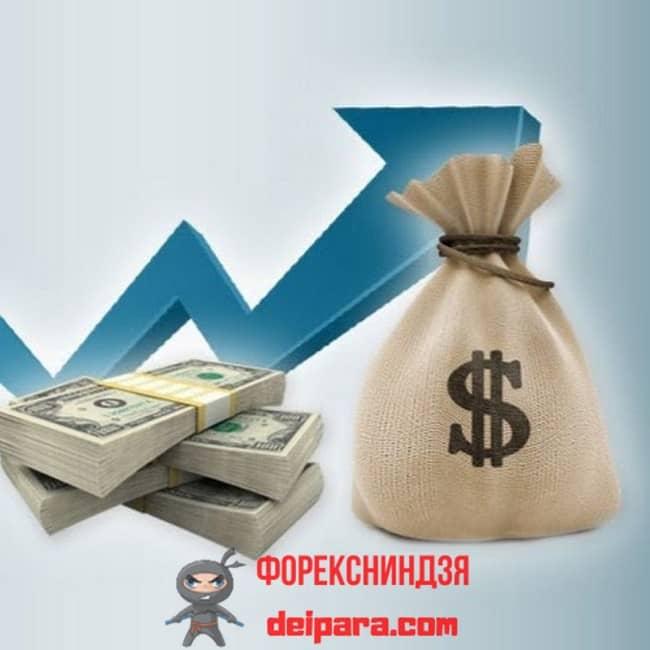 Рисунок 2. Получать гарантированную прибыль можно, только предварительно вложив деньги.