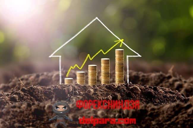 Рисунок 1. Земельные инвестиции – это средство получения прибыли разными способами.
