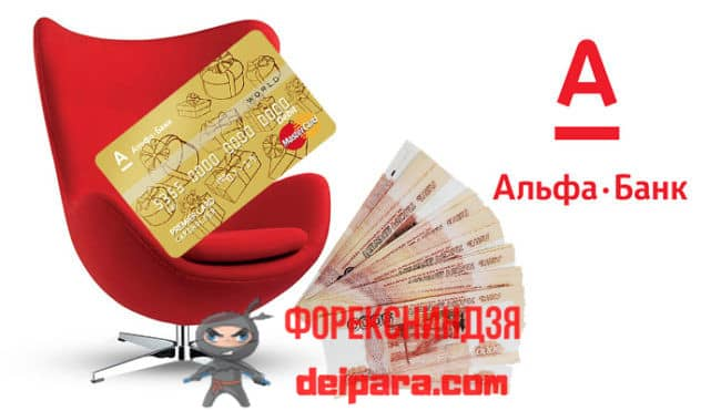 Пакет услуг комфорт Альфа банк