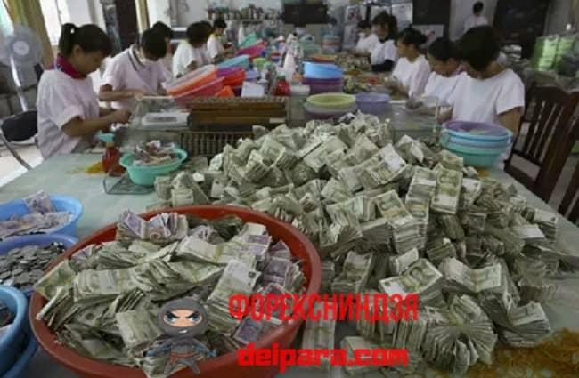 Рисунок 1. Для отмывания денег придумываются изощренные схемы и способы.