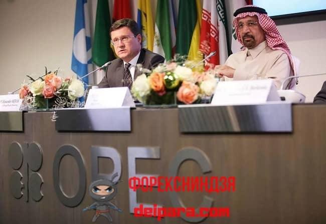Рисунок 1. Влияние ОПЕК определяется мнением ее участников.