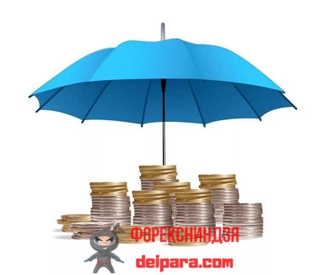 Рисунок 1. Защита сбережений от инфляции может быть организована через банковский депозит или приобретением изделий из драгметаллов.