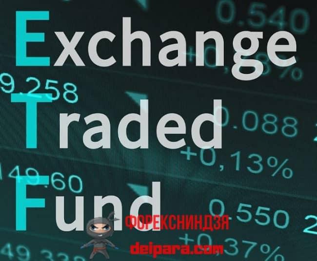 Рисунок 1. Расшифровка аббревиатуры ETF – инвестиционных фондов, торгующихся на биржах.