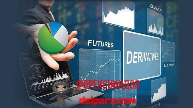 Рисунок 2. Деривативы – это ценные бумаги, инвестировать в которые можно и покупкой и продажей.