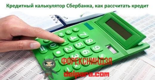 Главные преимущества расчетного калькулятора для кредитов в Сбербанке