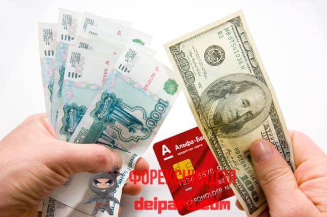 От каких факторов зависит курс валют в Альфа Банке