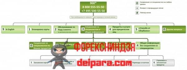 Связь с оператором Сбербанка корпоративным клиентам