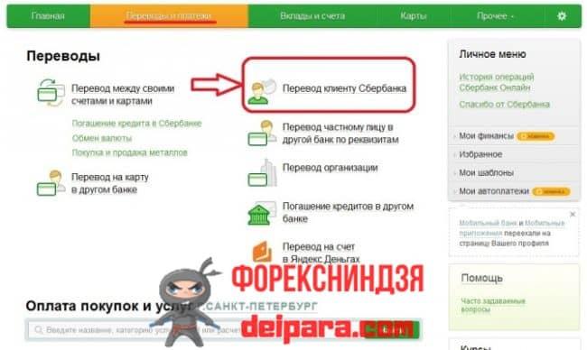 Телефон или личный кабинет Сбербанка: как сделать перевод