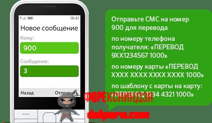 Комбинации на телефоне для пополнения карты Сбербанка