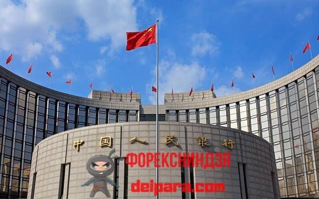 Рисунок 5. На курс юаня влияет ЦБ Китая (НБК).