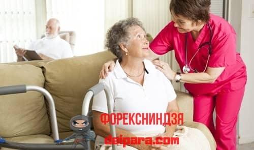 Как происходит переоформление, когда пенсионер обездвижен болезнью или имеет инвалидный статус