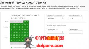 Специфика вычислений процентов за возможность использования кредитного пластика от Сбербанка