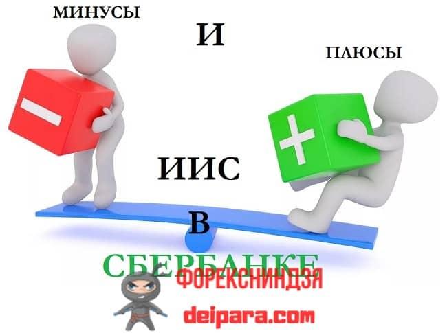 Рисунок 2. Разобрав минусы и плюсы ИИС Сбербанка, клиент остается в праве самостоятельно решать, воспользоваться ли его услугами.