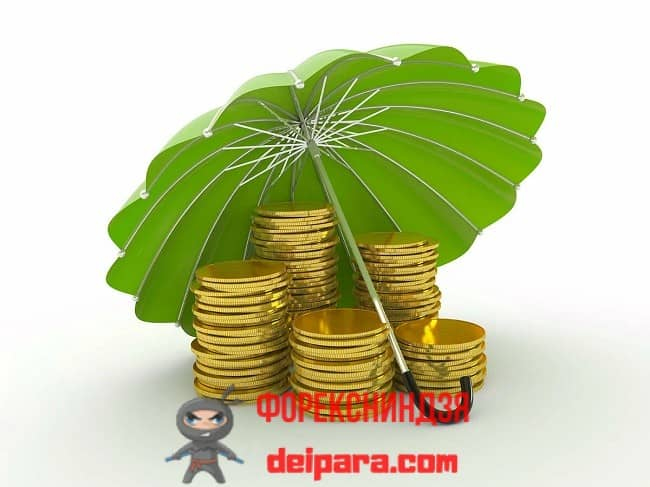 Рисунок 1. Если индивидуальный инвестиционный счет страхуется, то такое страхование ИИС сохранит инвесткапитал и прибыль инвестора.
